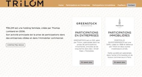 TGW Digital Développement d'application - Trilom