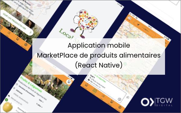 Application mobile créée